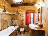 Žabovřeský Mlýn - koupelna apartmánu v přízemí - pronájem chalupy