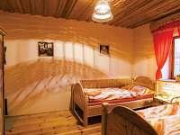 Žabovřeský Mlýn - ložnice apartmánu v přízemí - chalupa k pronájmu