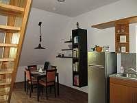 jídelní kout - apartmán ubytování Český Krumlov - Domoradice