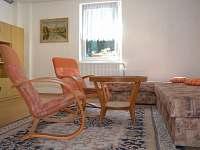obývací pokoj s 2 lůžky - apartmán k pronajmutí Písek