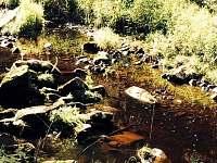 Říčka Černá - chata k pronajmutí Děkanské Skaliny