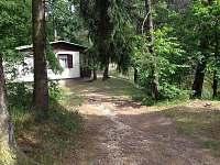 Celkový pohled na chatu - ubytování Chřešťovice