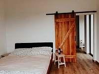 Ložnice v apartmánu č. 2 - pronájem Políkno u Jindřichova Hradce