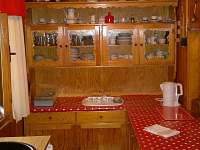 kuchyňka - chata k pronajmutí Hrdoňov