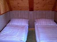 ložnice 1 - chata k pronajmutí Hrdoňov