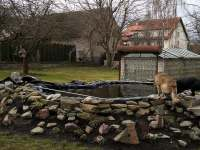 zahrada - apartmán k pronájmu Mirovice