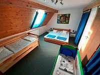Ložnice - apartmán k pronájmu Byňov u Nových Hradů