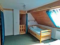 Zábrana pro děti v ložnici - pronájem apartmánu Byňov u Nových Hradů