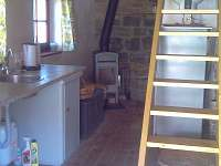 Chalupa Svučice - kuchyňka a vstup