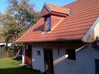 Chalupa Svučice - nové stavení z opačné strany
