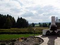 Výhled z terasy do Národního parku