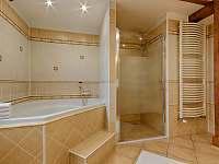 Apartmán Deluxe - koupelna - Jindřichův Hradec