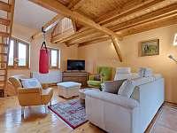 Apartmán Deluxe - obývací pokoj - ubytování Jindřichův Hradec