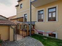 Venkovní posezení mezonetový apartmán Deluxe - ubytování Jindřichův Hradec