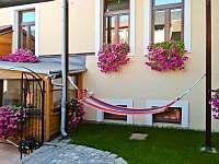 Venkovní posezení mezonetový apartmán Deluxe - Jindřichův Hradec