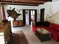 obývací pokoj - chata ubytování Kosov