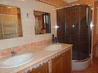 Koupelna - pronájem chalupy Neznašov