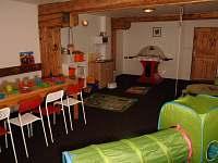 Dětská herna - ubytování Horní Planá - Hůrka