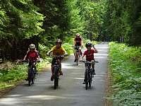 Cyklostezky v okolí bez aut - Vlkov