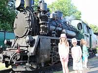 Výlet parní lokomotivou - Vlkov