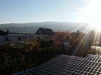 apartmán Křemže - Výhled z patra