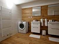 Koupelna v přízemí - chalupa k pronajmutí Sviňovice
