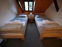 Ložnice v 1. patře - pronájem chalupy Sviňovice