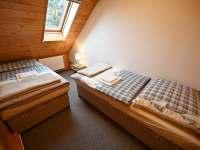 Ložnice v 1. patře - chalupa k pronajmutí Sviňovice