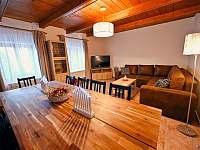 Obývací místnost - chalupa ubytování Sviňovice