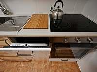 Vybavení kuchyně - chalupa ubytování Sviňovice