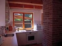 kuchyňský kout - chata k pronájmu Cetoraz