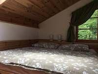 západní ložnice - pronájem chaty Cetoraz