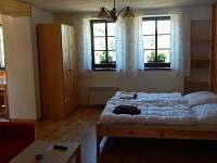 Apartmán č. 2 - pronájem chalupy Zvůle