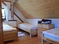 Apartmán č. 3 ložnice se 3 lůžky - pronájem chalupy Zvůle