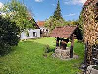 Zahrada - chalupa k pronájmu Stříbřec