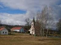 Výhled na kapli