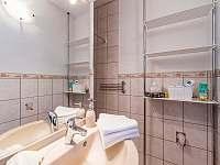 Chata Vlachnovice - koupelna s WC a sprchou - pronájem