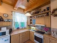 Chata Vlachnovice - kuchyně -