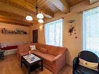 Chata Vlachnovice - obývací prostor -