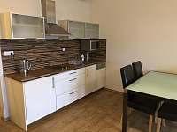 Kuchyňská linka - apartmán ubytování Lipno nad Vltavou
