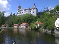 výlet na hrad Rožumberg - Černá v Pošumaví
