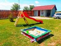 Ubytování - Dětské zázemé - houpačka, skluzavka,pískoviště