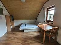 1. patro, čtyřlůžkový pokoj č.4 - rekreační dům k pronajmutí Chlum u Třeboně