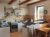 kuchyně - pronájem rekreačního domu Chlum u Třeboně