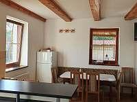 kuchyně - rekreační dům ubytování Chlum u Třeboně