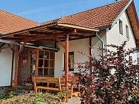 pohled na dům - rekreační dům k pronájmu Chlum u Třeboně