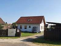 pohled zvenku - rekreační dům ubytování Chlum u Třeboně