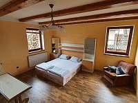 přízemí, dvoulůžkový pokoj č.2, možnost 4 lůžek - Chlum u Třeboně