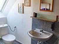 pokojík koupelna - apartmán k pronájmu Jindřiš