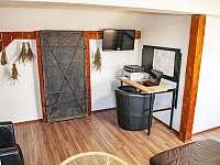 společenský prostor - apartmán ubytování Jindřiš